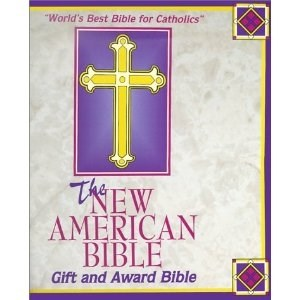 NABRE Gift And Award Bible-White Imitation Leather