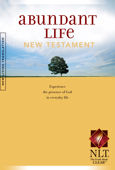 NLT Abundant Life New Testament-Softcover