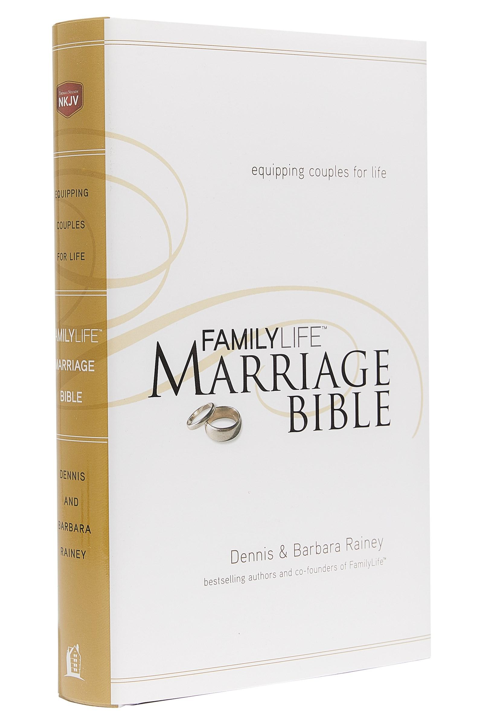 NKJV Familylife Marriage Bible-Hardcover