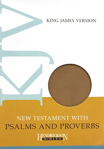 KJV New Testament With Psalms & Proverbs-Tan Flexisoft