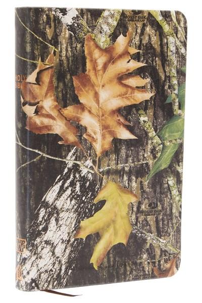 KJV UltraSlim Bible-Mossy Oak Camouflage LeatherSoft