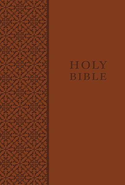 KJV King James Study Bible/Personal Size-Auburn LeatherSoft