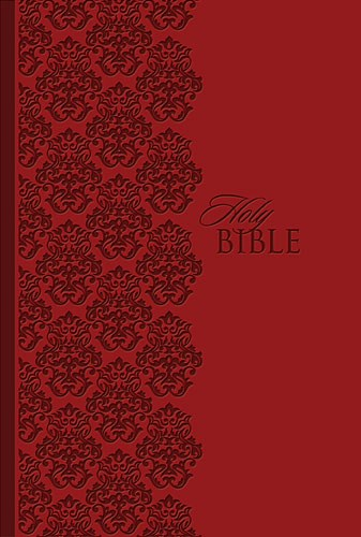 KJV King James Study Bible/Personal Size-Ruby LeatherSoft