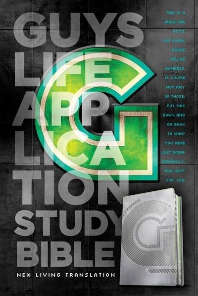 NLT Guys Life Application Study Bible-Iridium LeatherLike