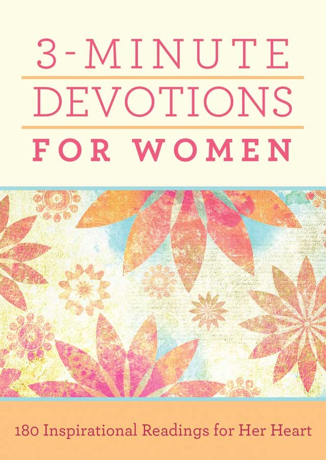 3-Minute Devotions For Women-Mass Market