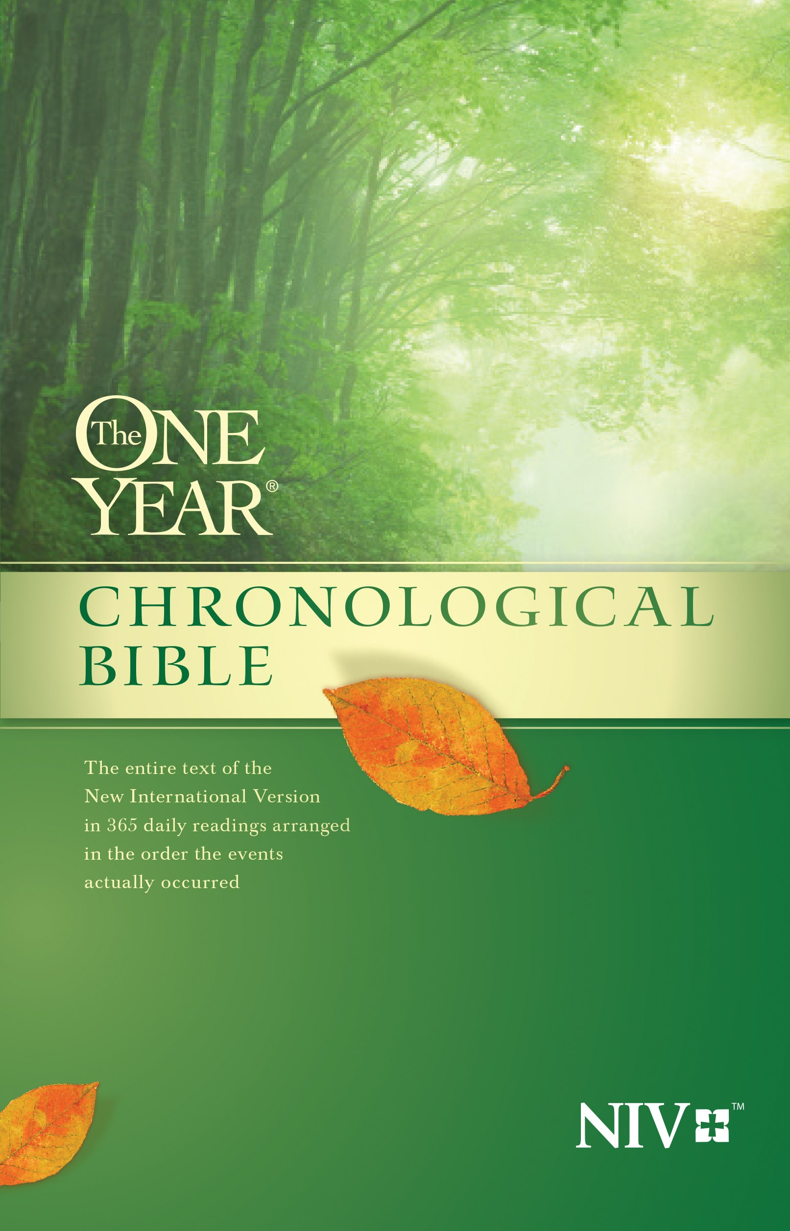 NIV One Year Chronological Bible (Repack)-Softcover
