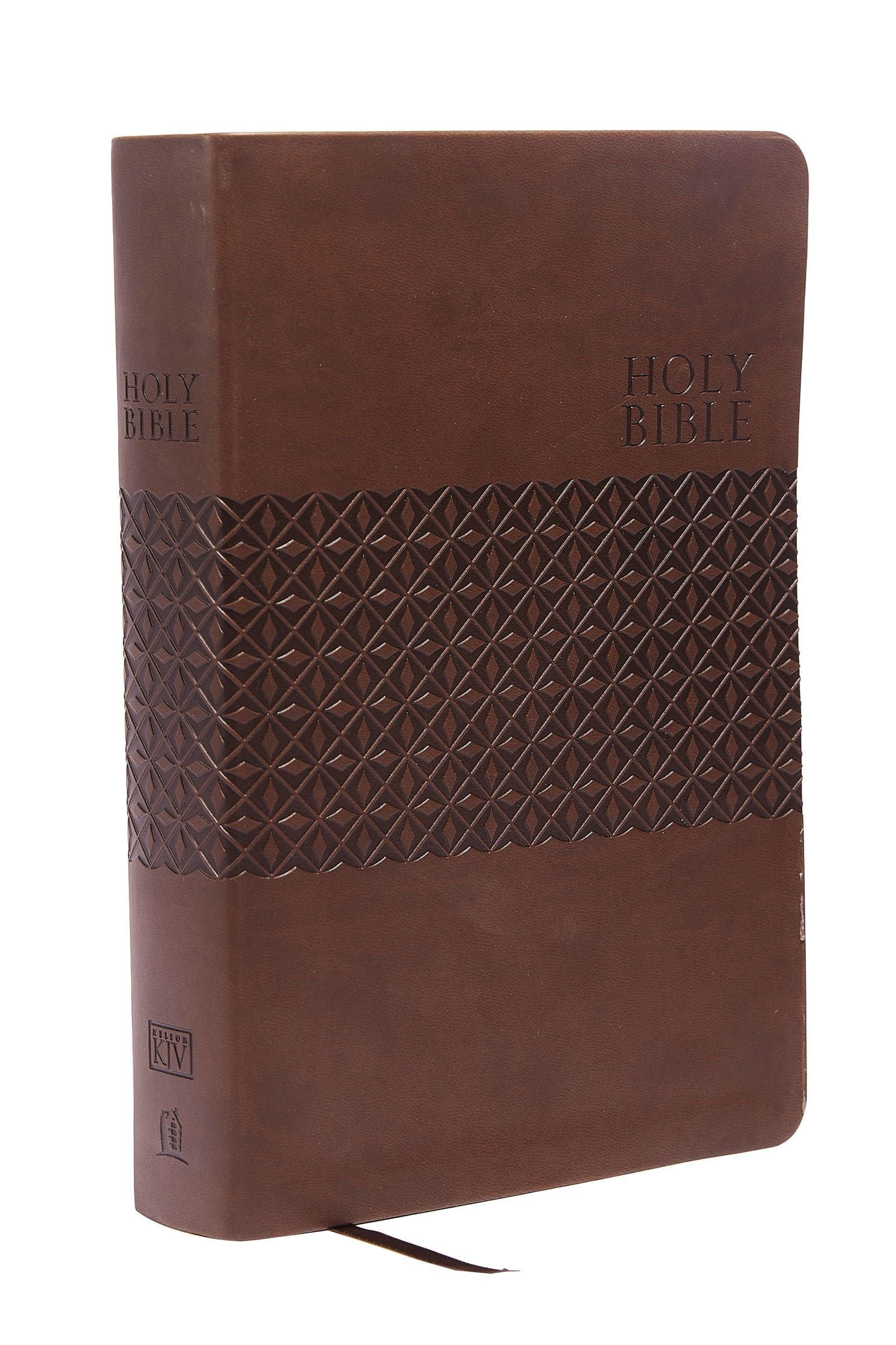 KJV King James Study Bible (Second Edition)-Earth Brown LeatherSoft