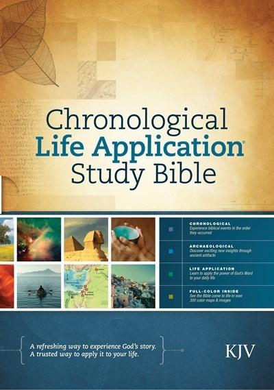 KJV Chronological Life Application Study Bible-Hardcover