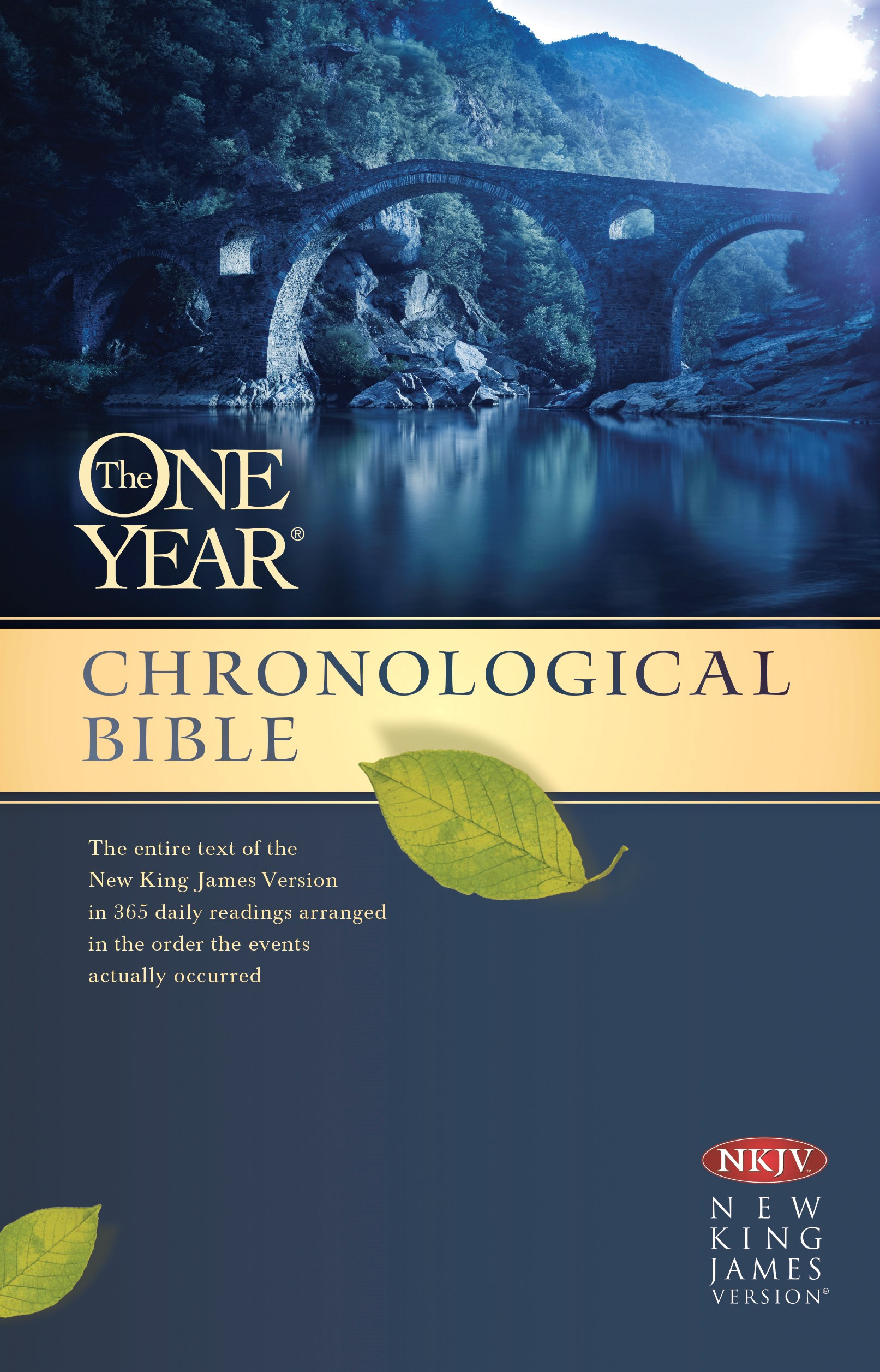 NKJV One Year Chronological Bible-Softcover