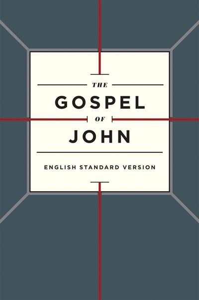ESV Gospel Of John-Cross Design Softcover