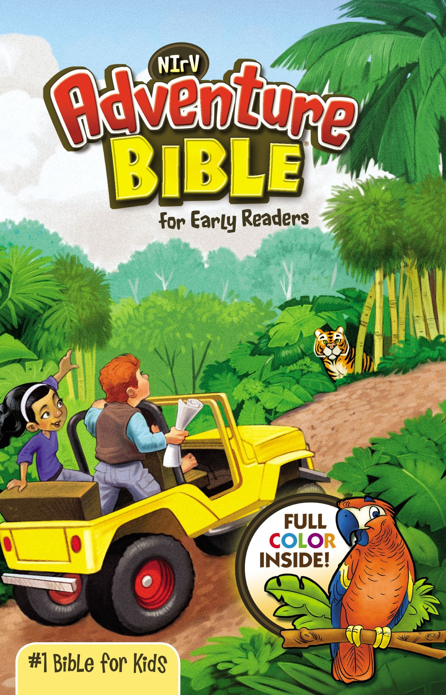 NIrV Adventure Bible For Early Readers (Full Color)-Hardcover