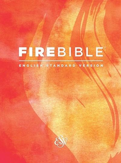 ESV Fire Bible-Black Genuine Leather
