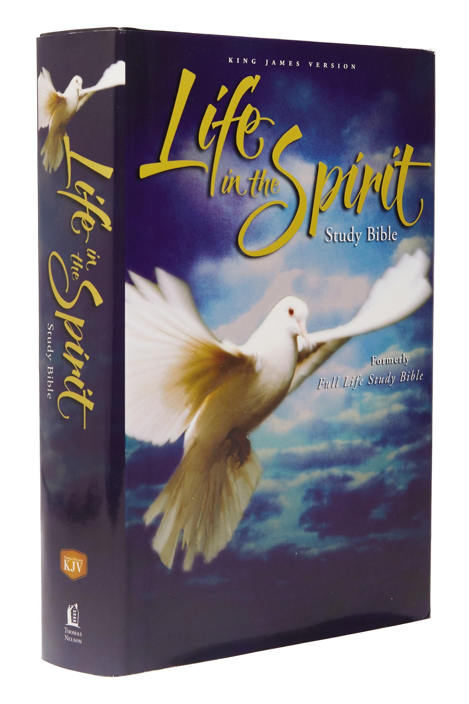 KJV Life In The Spirit Study Bible-Hardcover