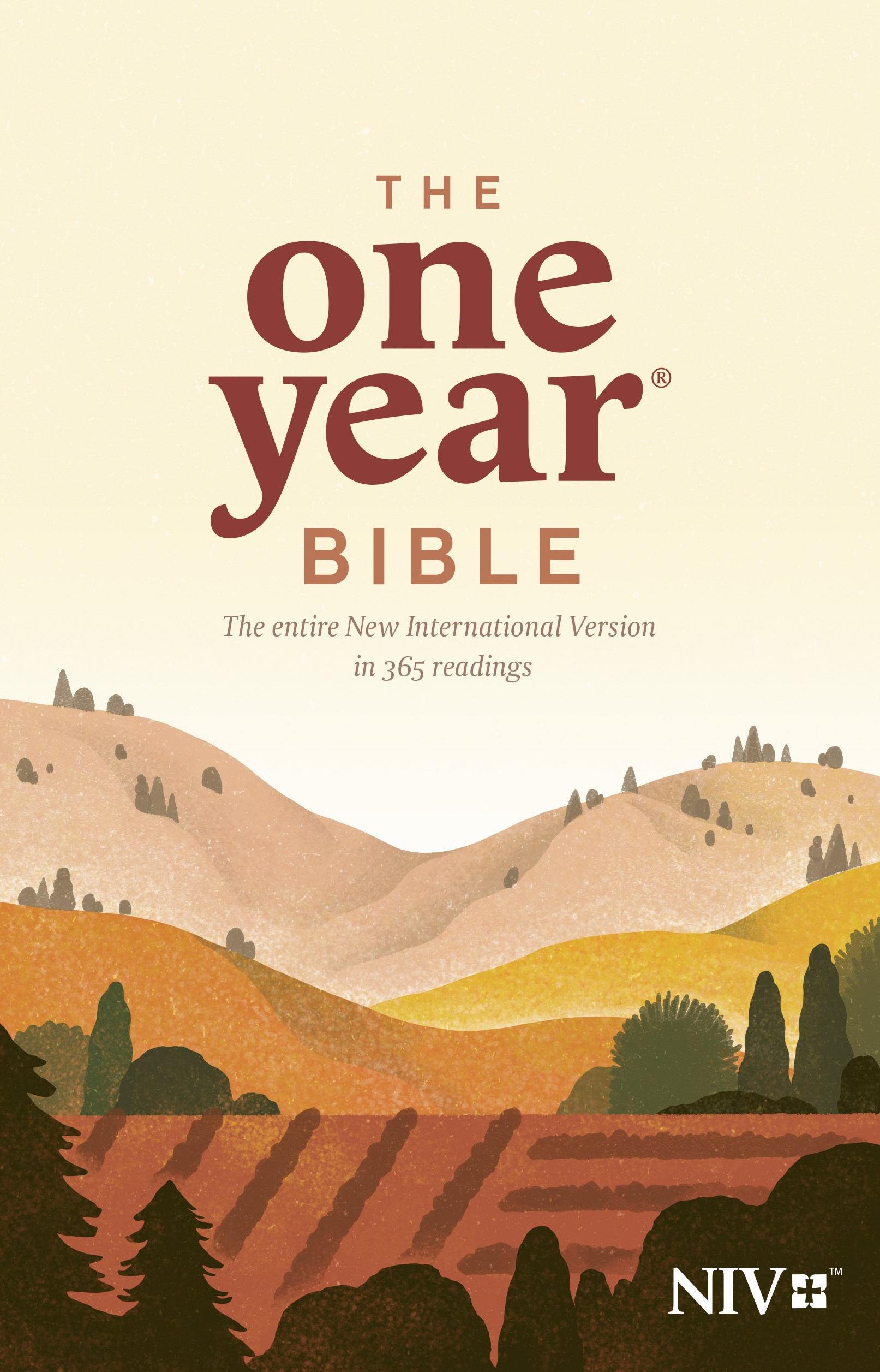 NIV One Year Bible (Repackage)-Softcover