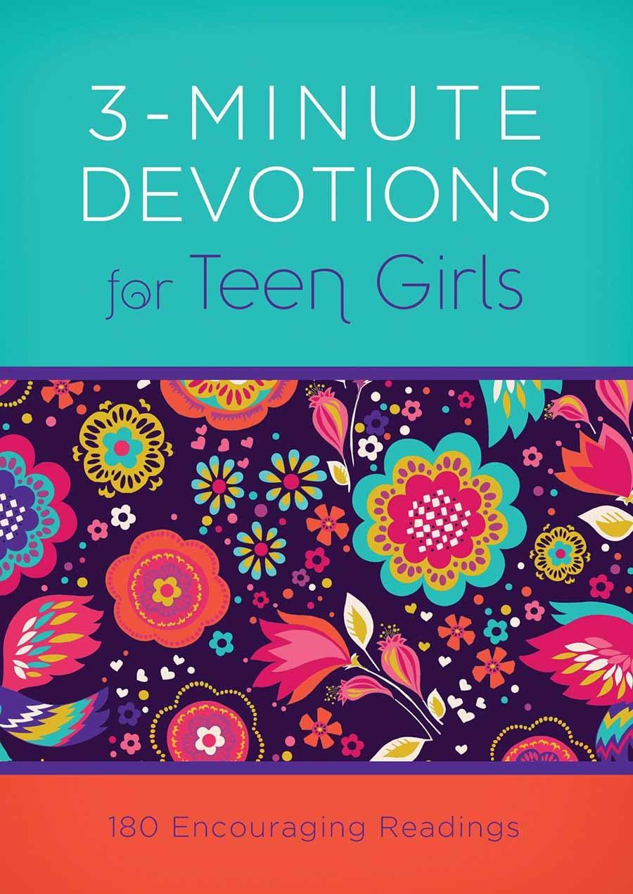 3-Minute Devotions For Teen Girls-Mass Market