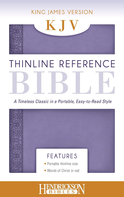 KJV Thinline Reference Bible-Lilac Flexisoft