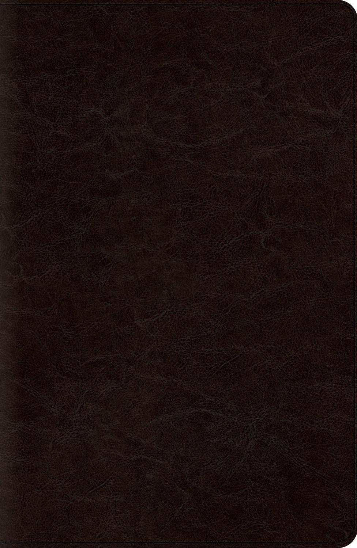ESV Reference Bible-Coffee TruTone