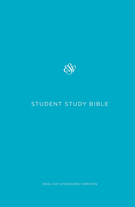 ESV Student Study Bible-Blue Hardcover
