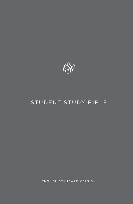 ESV Student Study Bible-Gray Hardcover