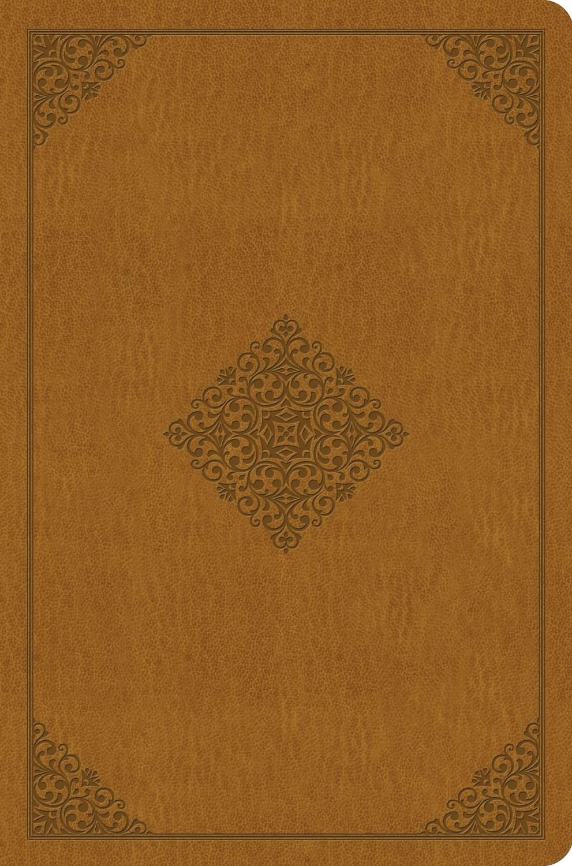 ESV Value Compact Bible-Goldenrod Ornament Design TruTone