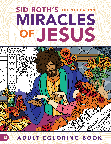 31 Healing Miracles Of Jesus Coloring Book