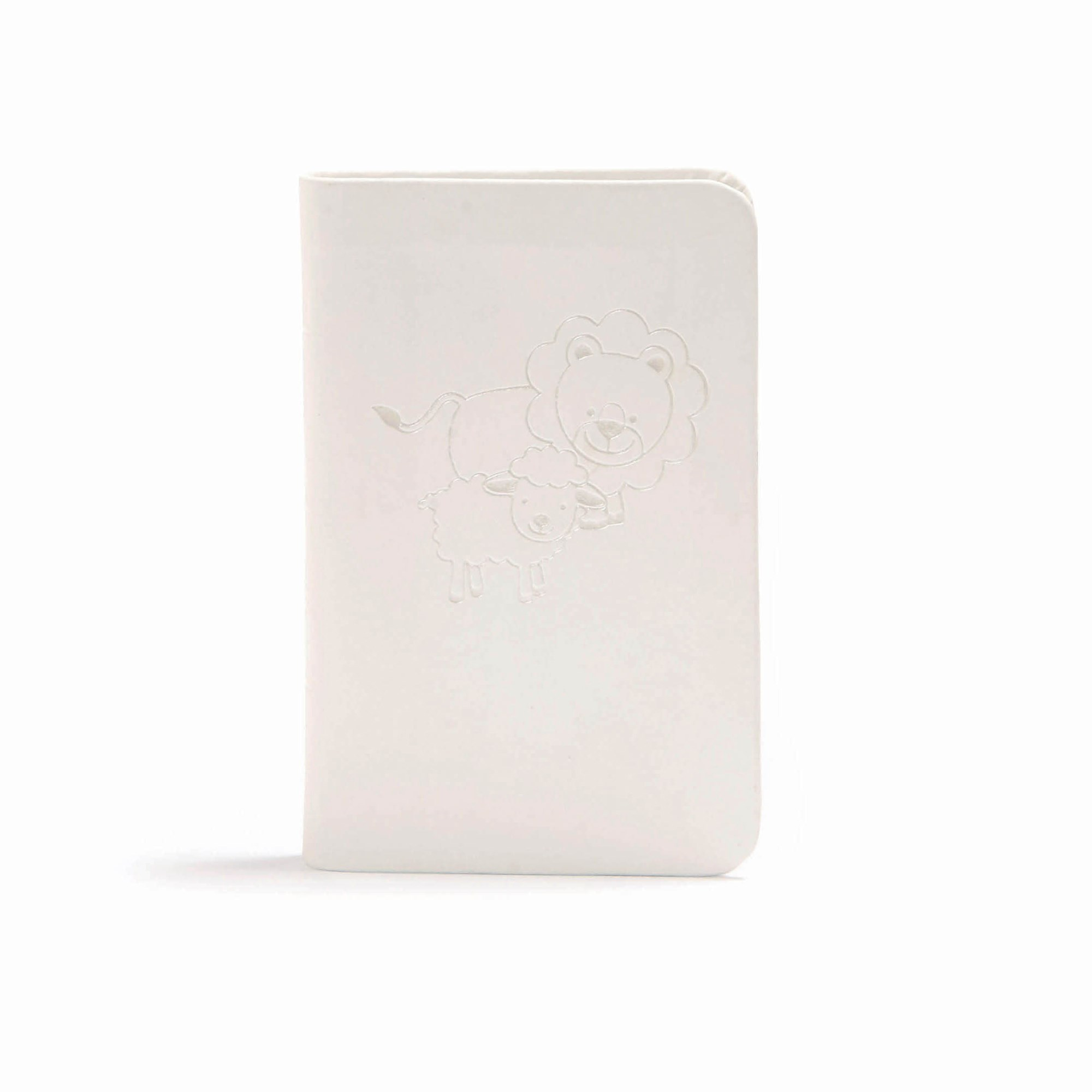 CSB Baby's New Testament With Psalms-White LeatherTouch