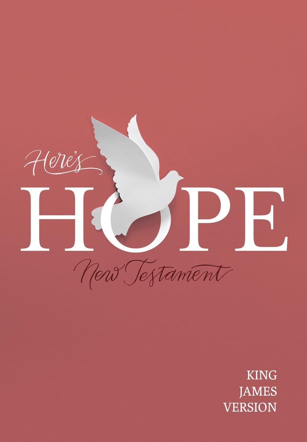 KJV Here's Hope New Testament-Softcover