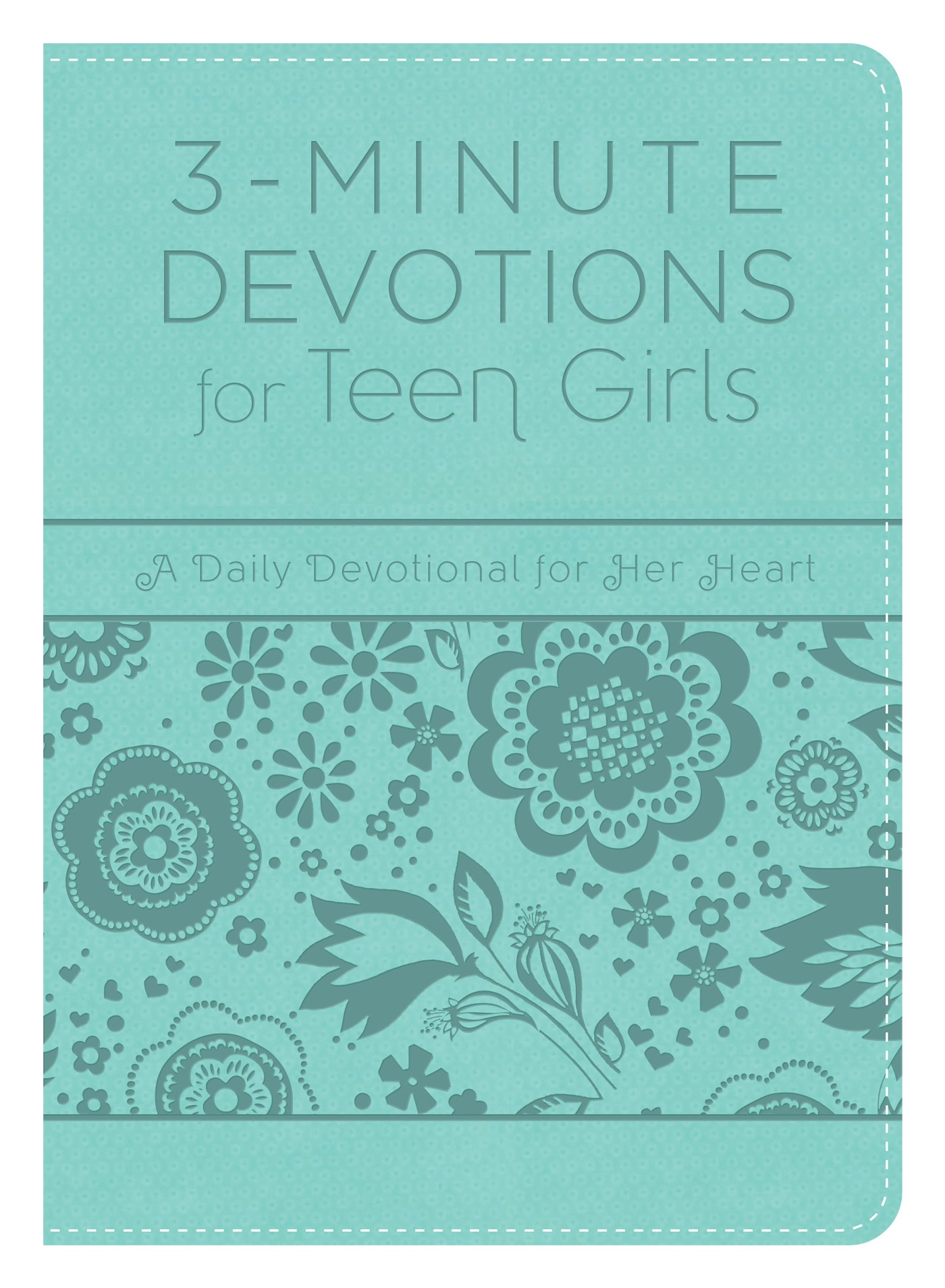 3-Minute Devotions For Teen Girls-Softcover