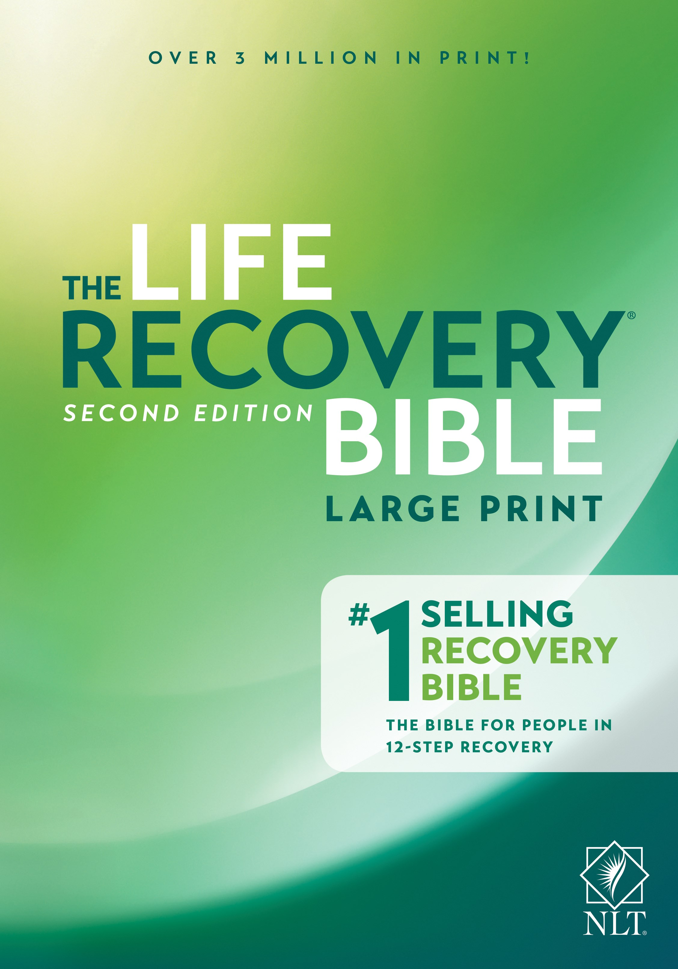 NLT Life Recovery Bible/Large Print (25th Anniversary Edition)-Softcover