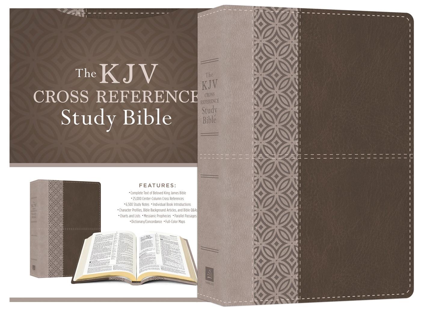 KJV Cross Reference Study Bible-Stone DiCarta