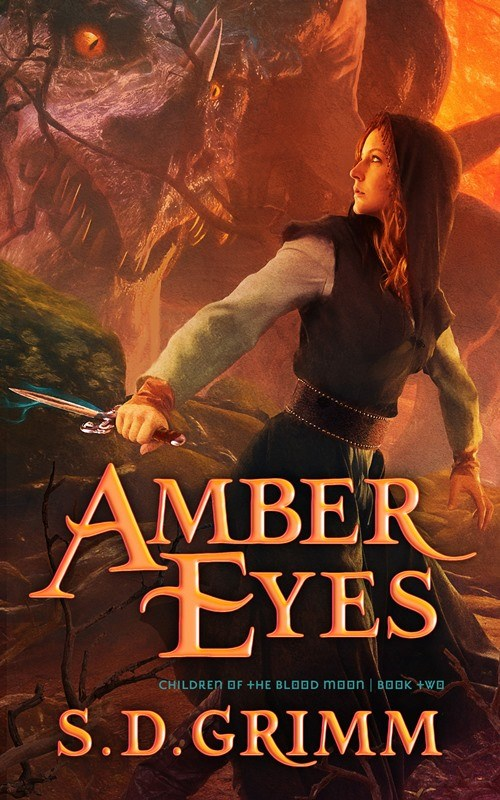 Amber Eyes- Children Of The Blood Moon (Book Two)