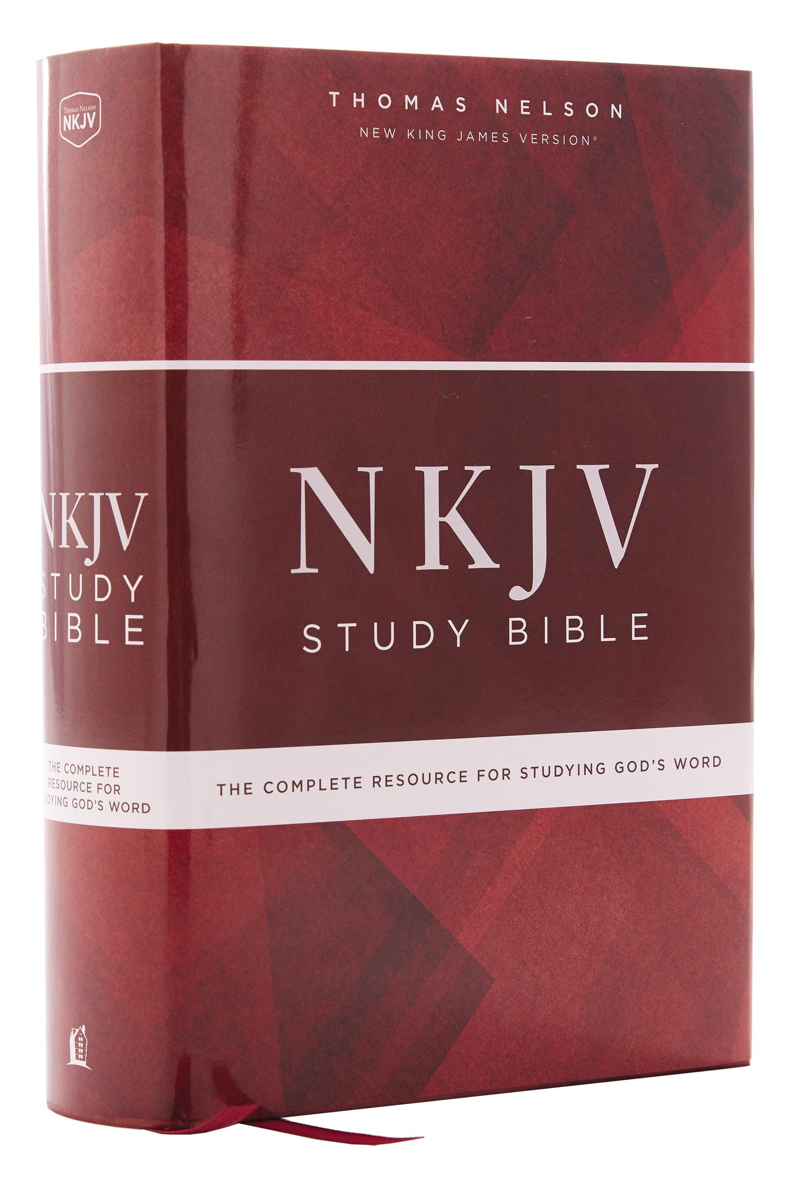 NKJV Study Bible (Comfort Print)-Hardcover