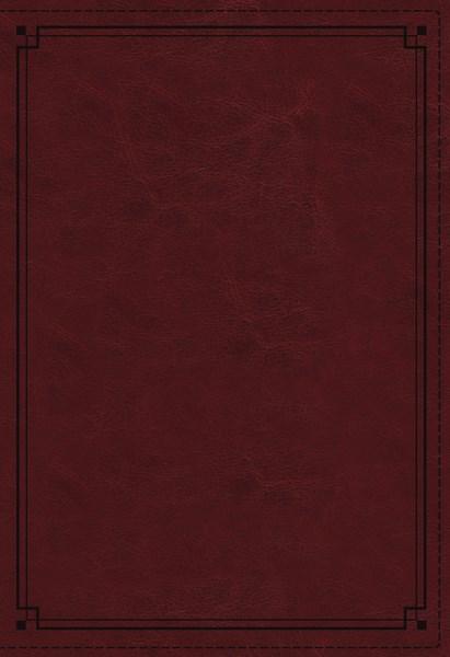 NKJV Study Bible (Comfort Print)-Crimson Leathersoft Indexed