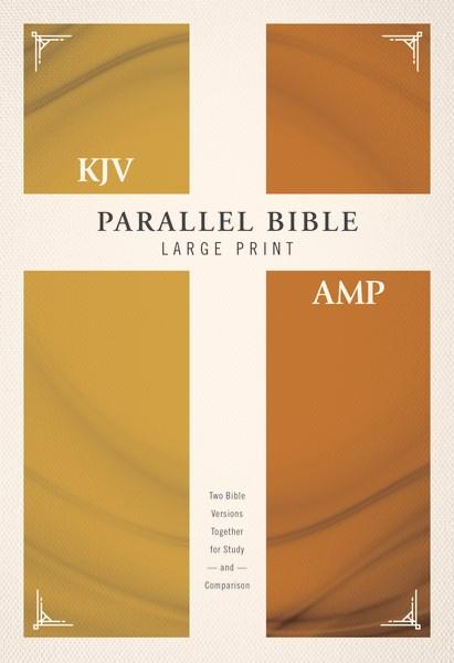 KJV/Amplified Parallel Bible/Large Print-Hardcover