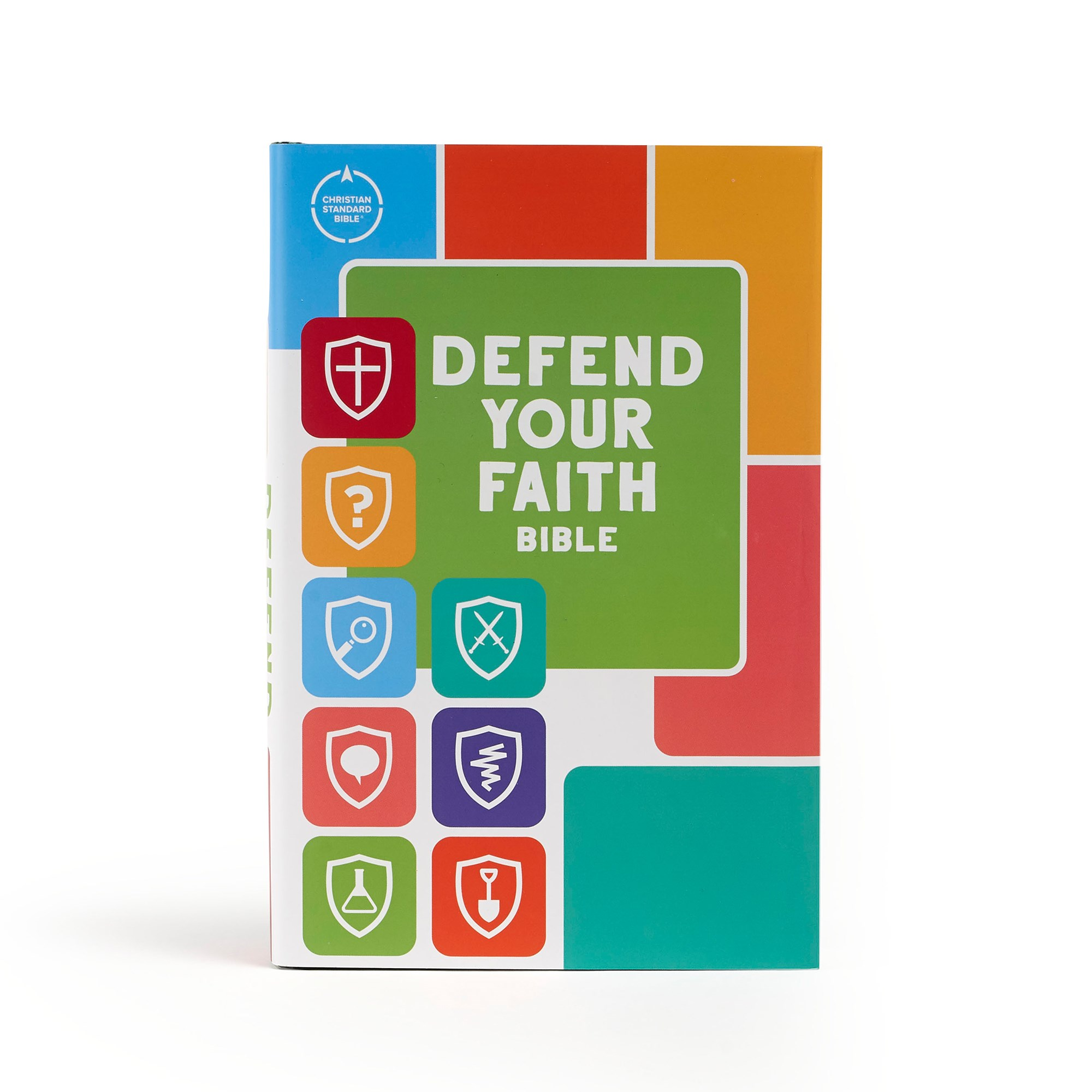 CSB Defend Your Faith Bible (Full Color)-Hardcover