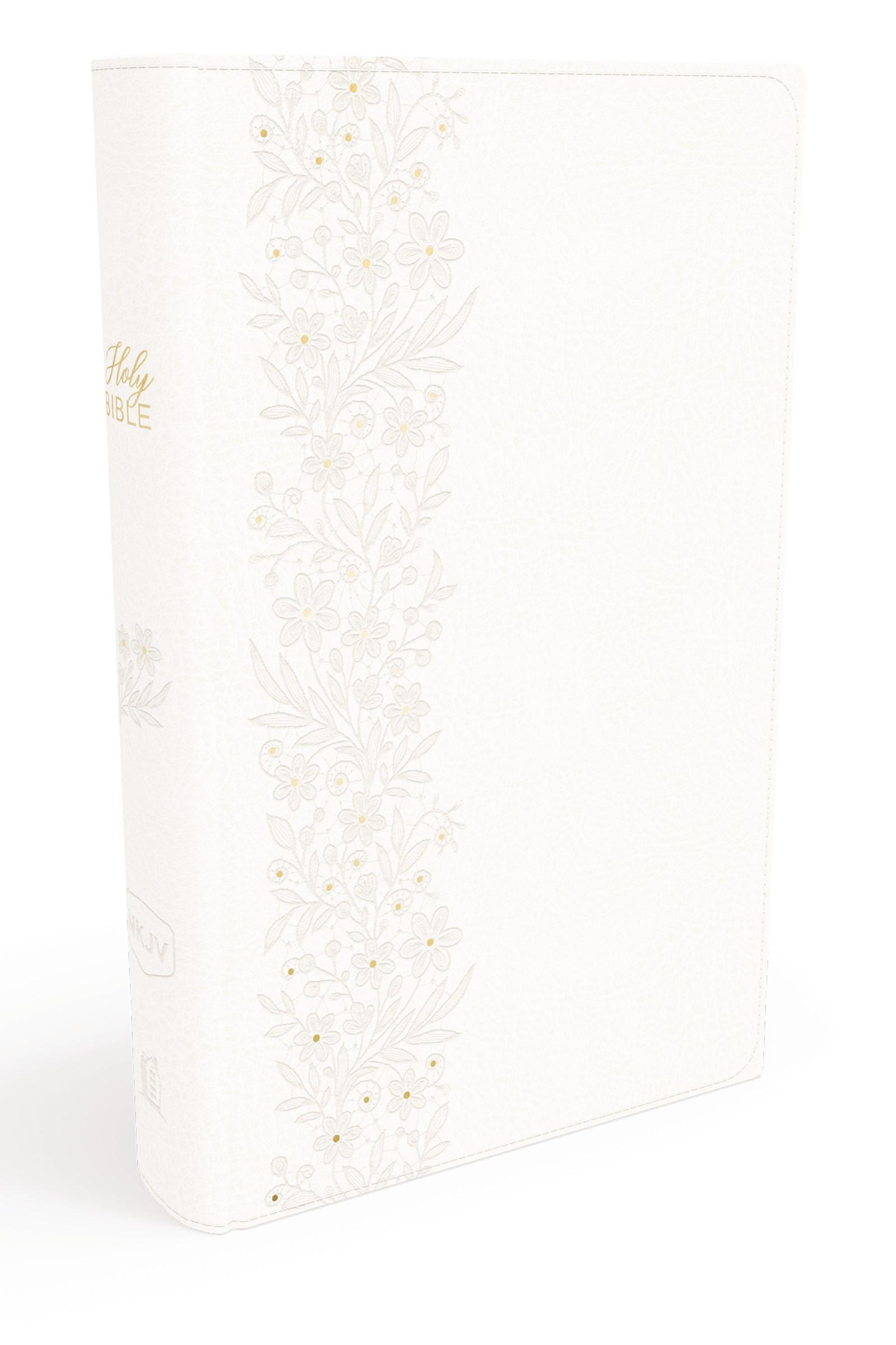NKJV Bride's Bible (Comfort Print) White Leathersoft