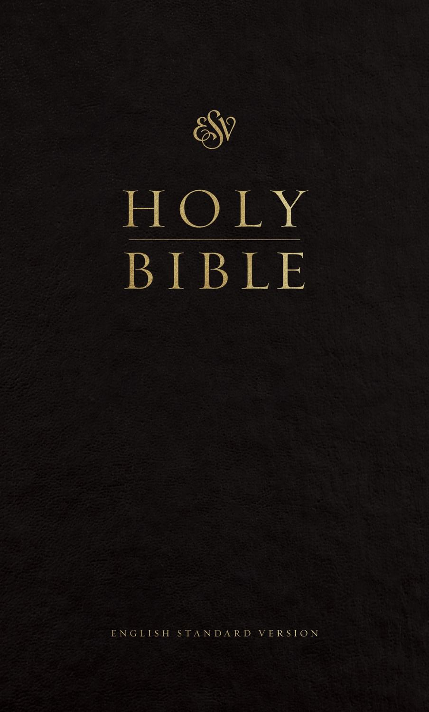 ESV Pew Bible-Black Hardcover