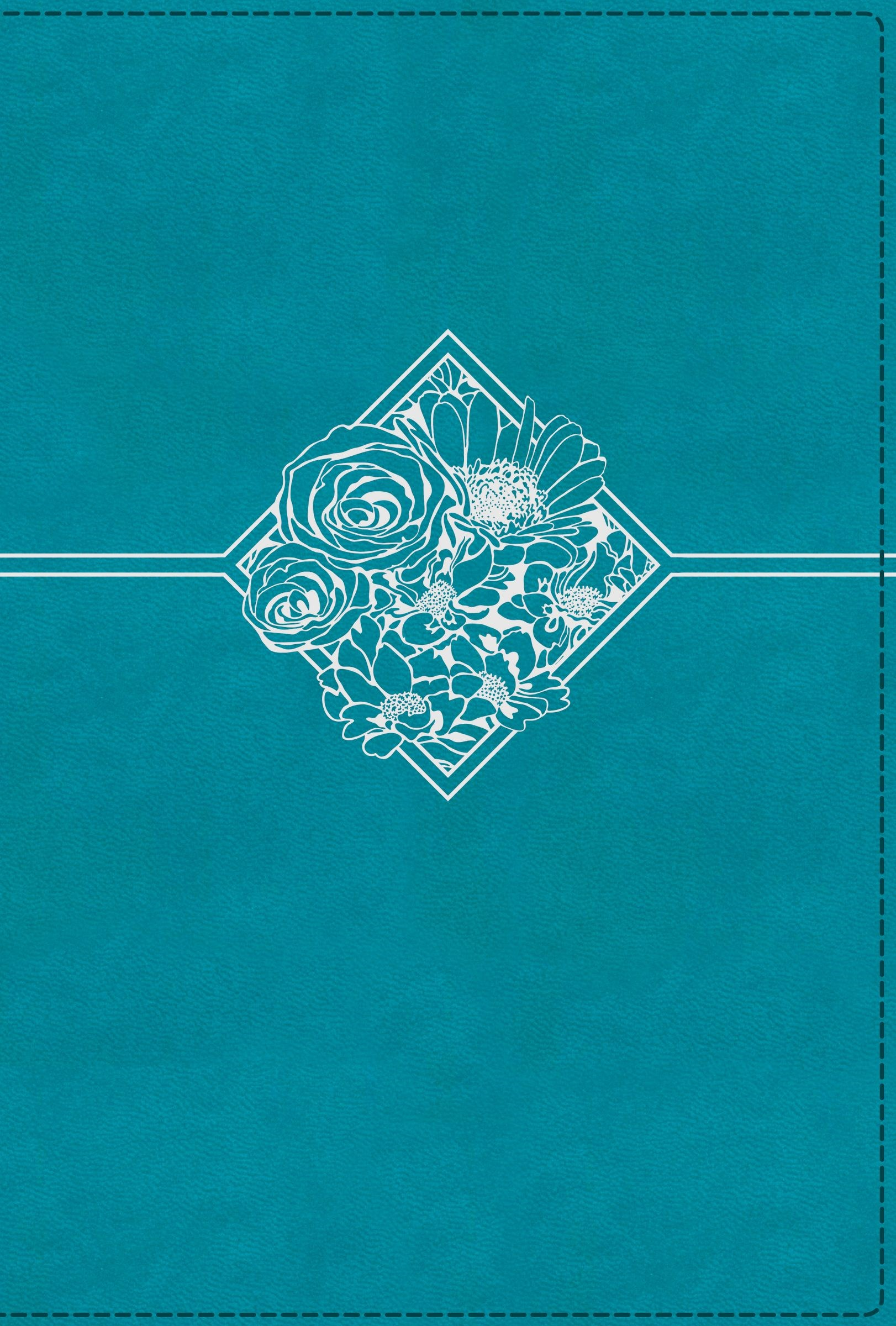 NIV Quest Study Bible (Comfort Print)-Teal Leathersoft Indexed