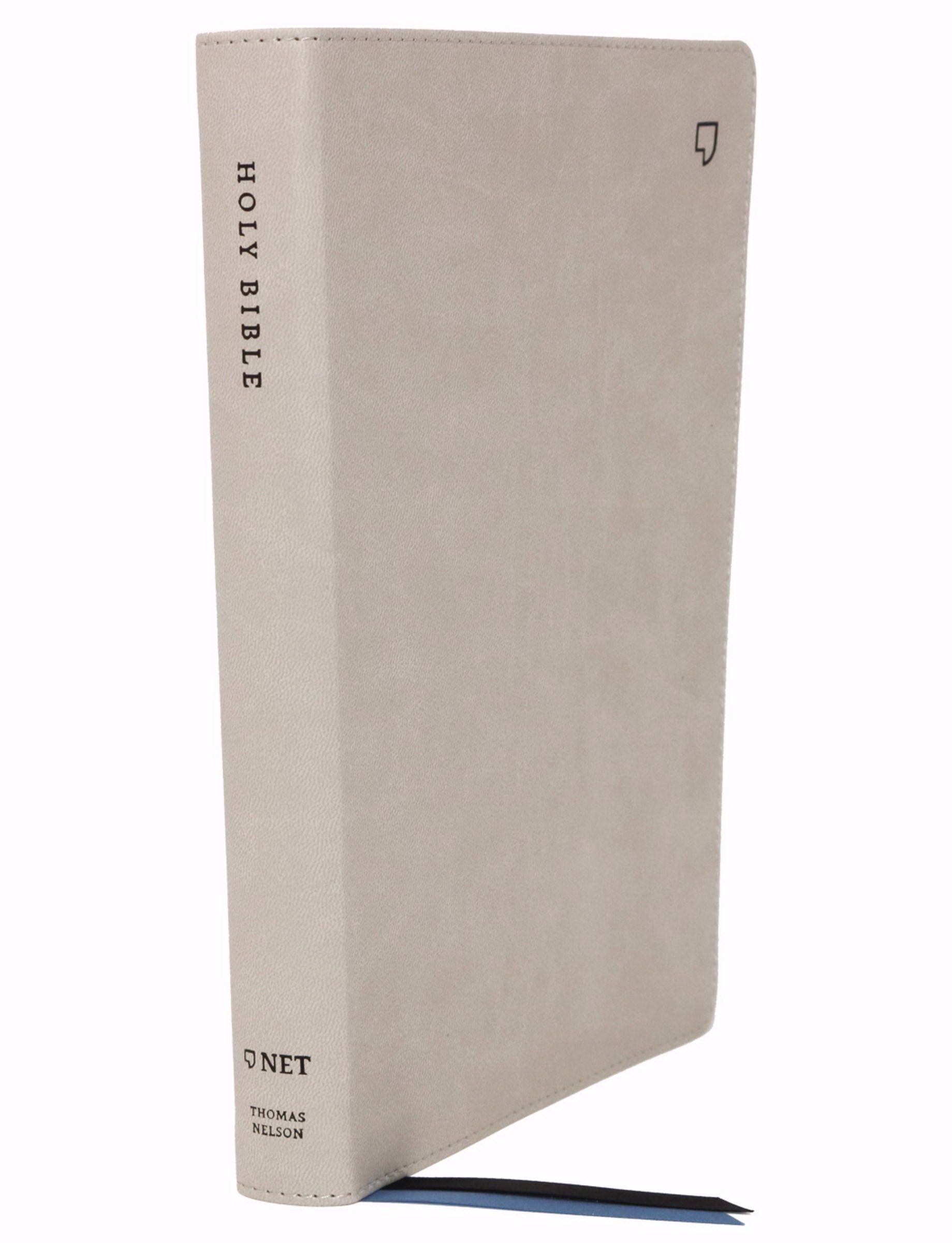 NET Thinline Bible (Comfort Print)-Stone Leathersoft Indexed