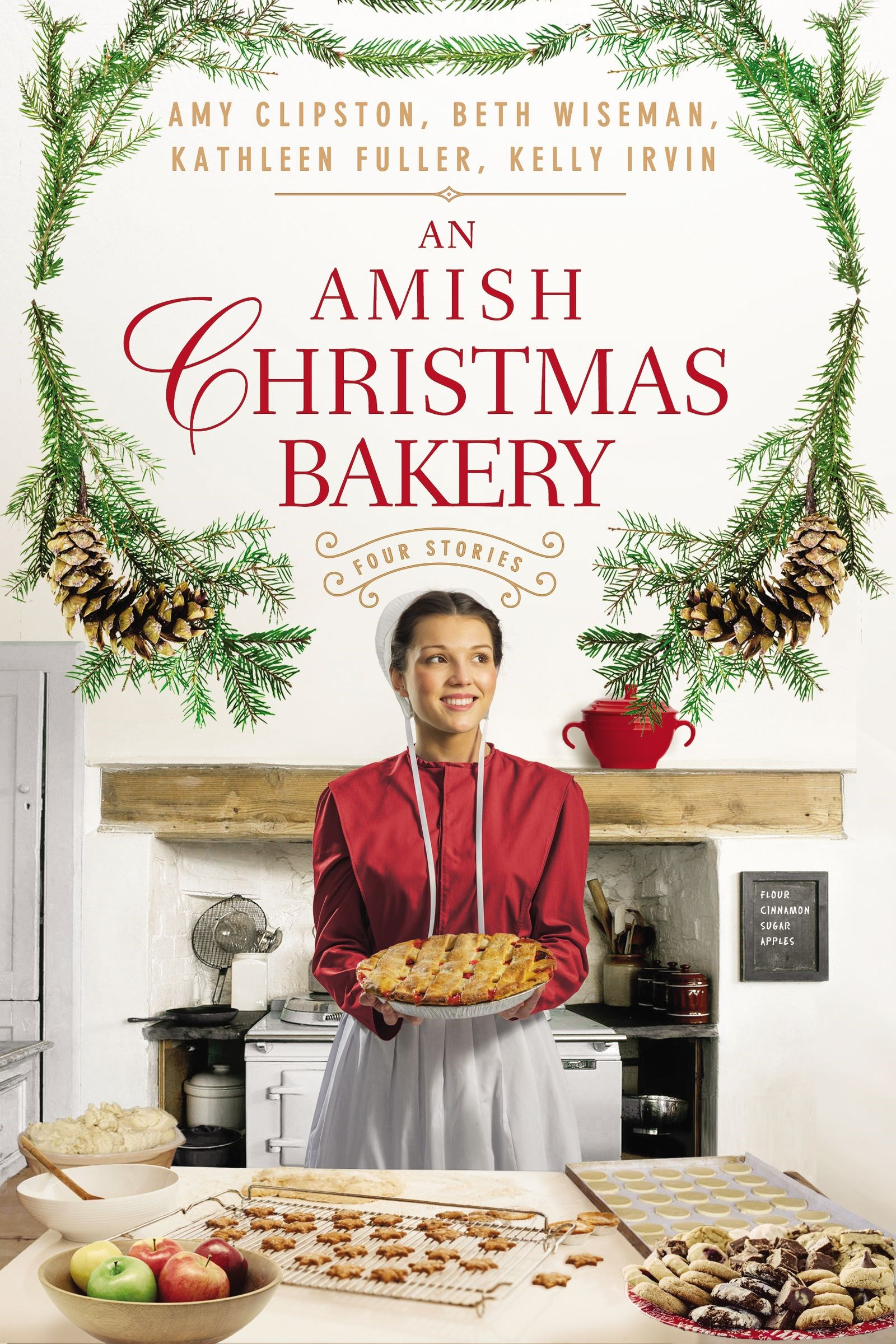 An Amish Christmas Bakery: Four Stories (4-In-1)