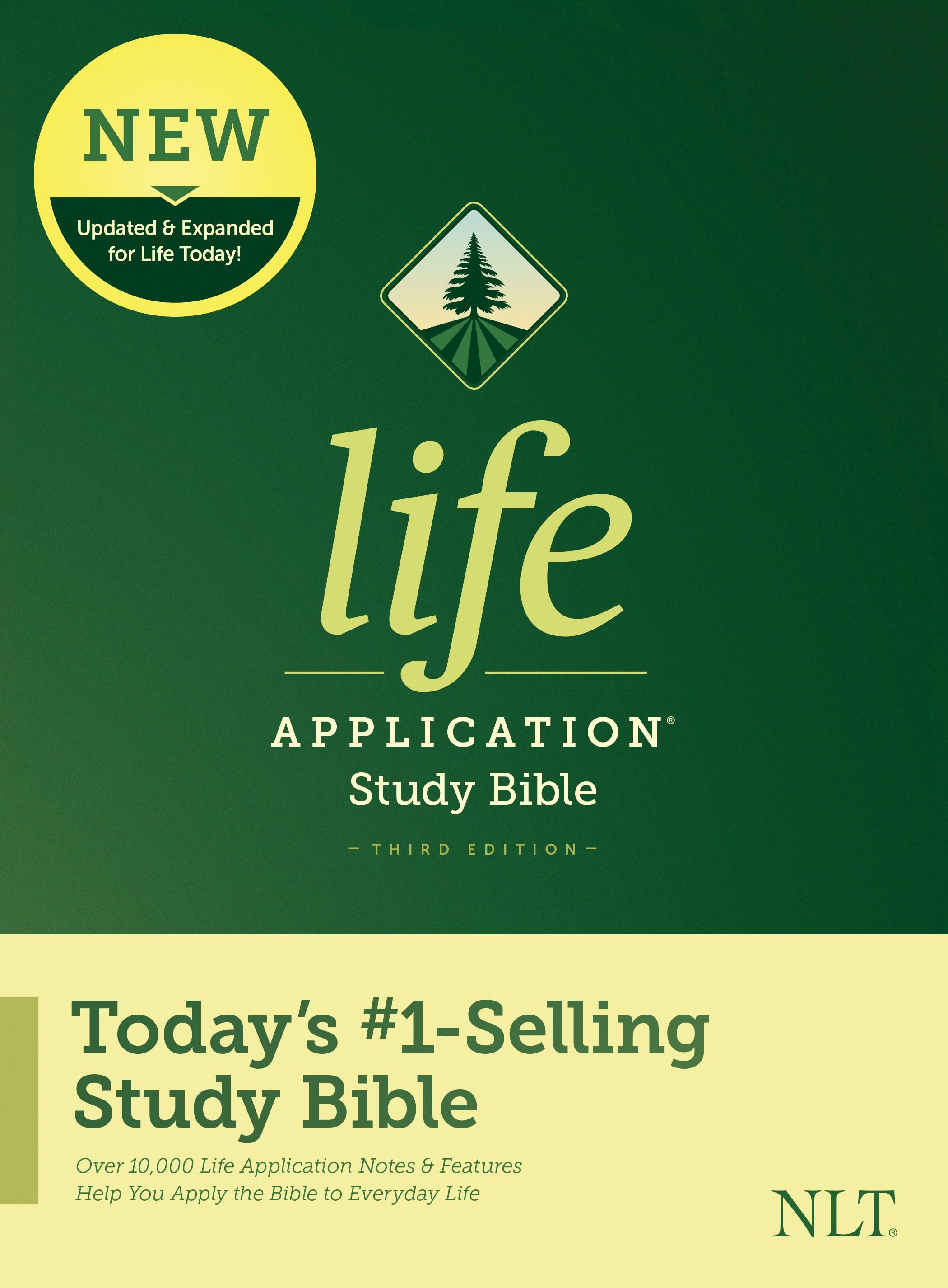 NLT Life Application Study Bible (Third Edition)-Hardcover