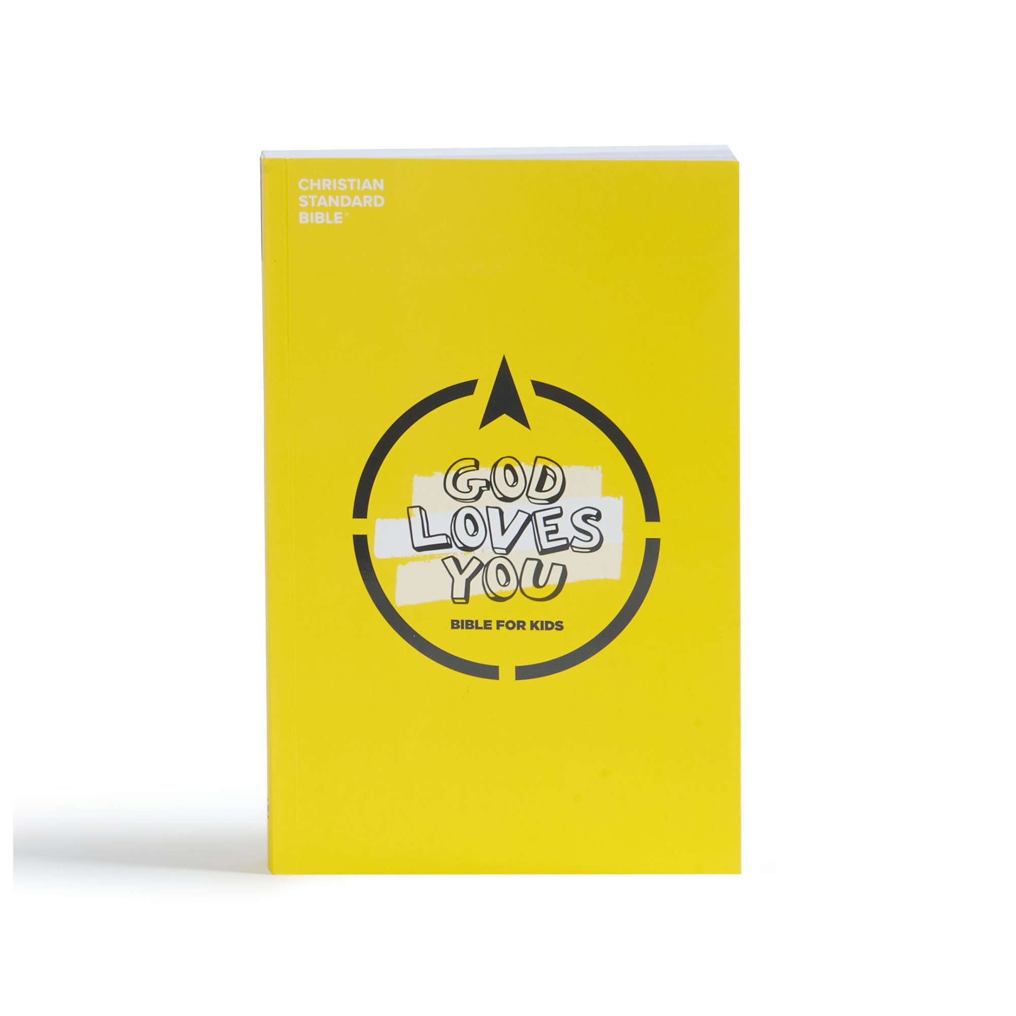 CSB God Loves You Bible For Kids-Softcover