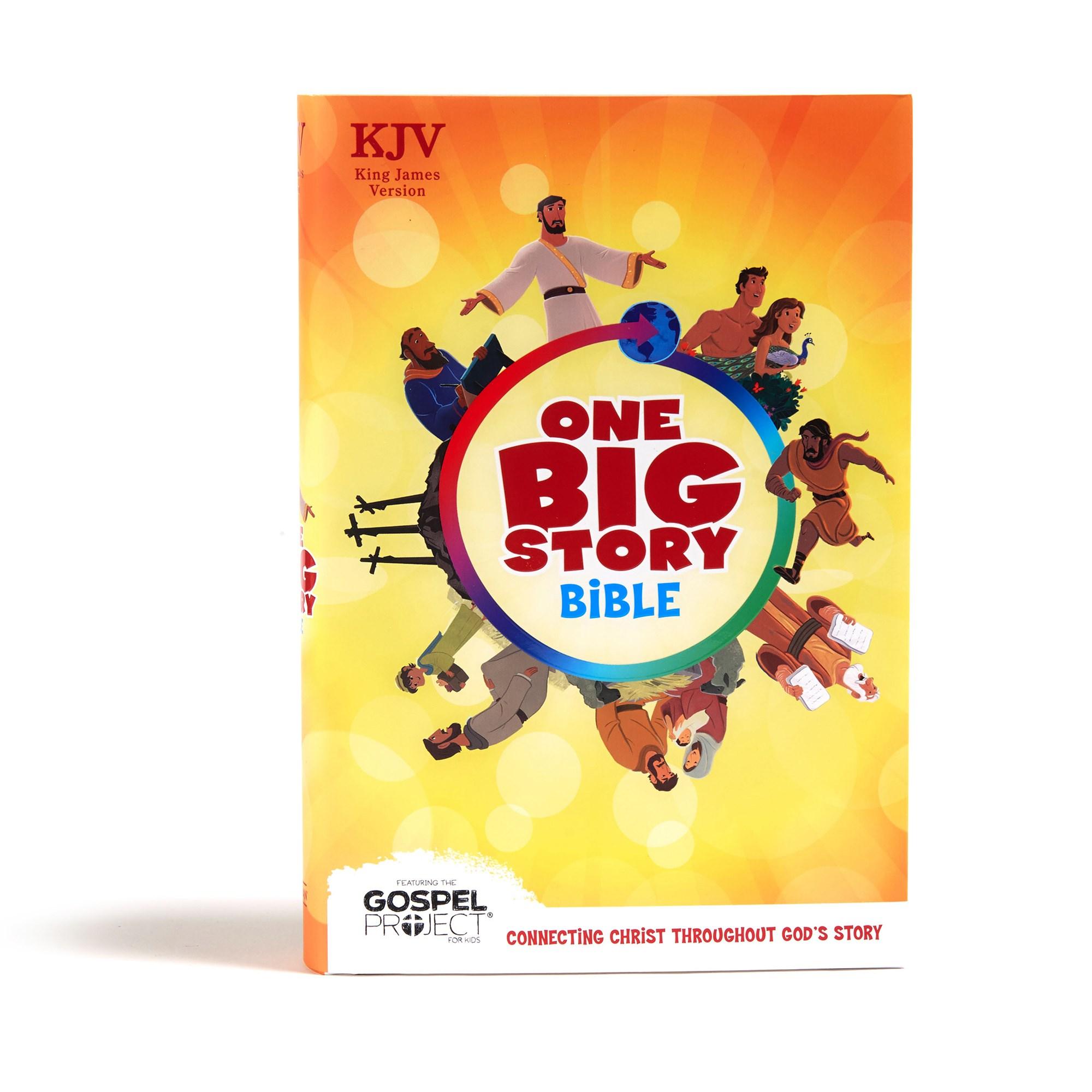 KJV One Big Story Bible-Hardcover