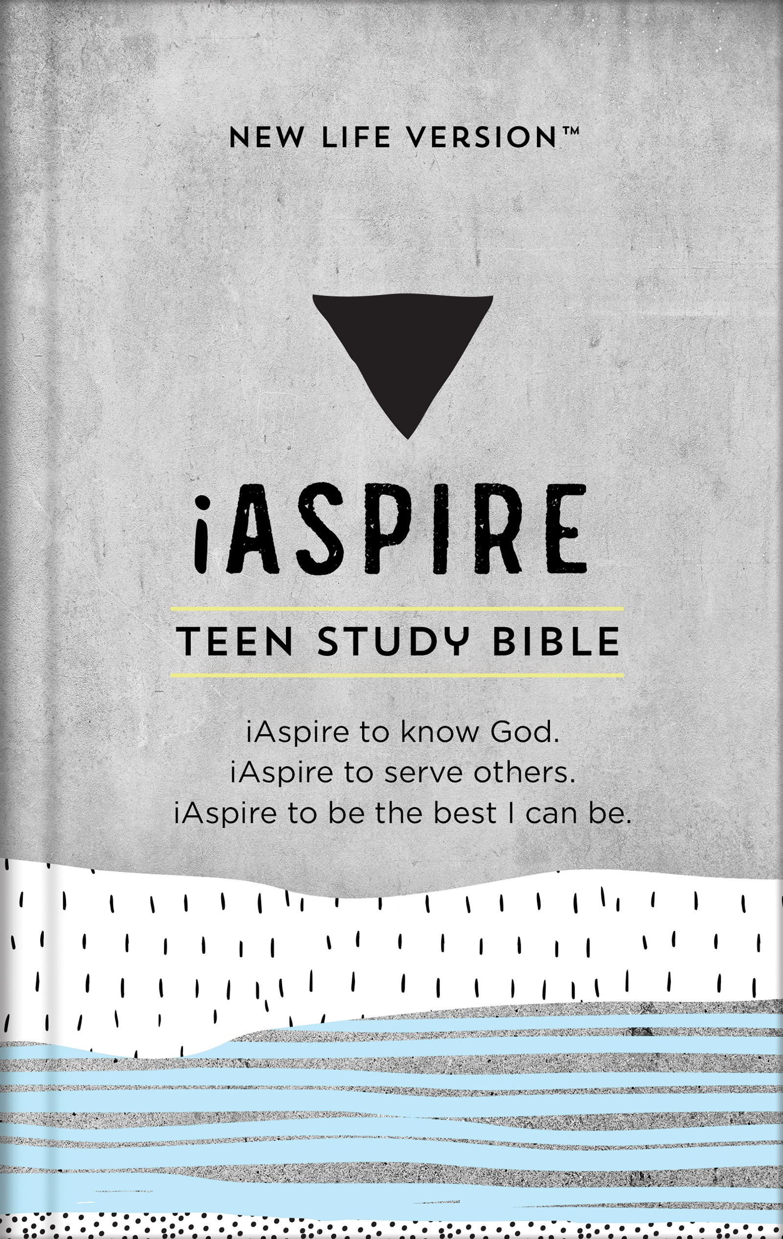 NLV iAspire Teen Study Bible-Hardcover