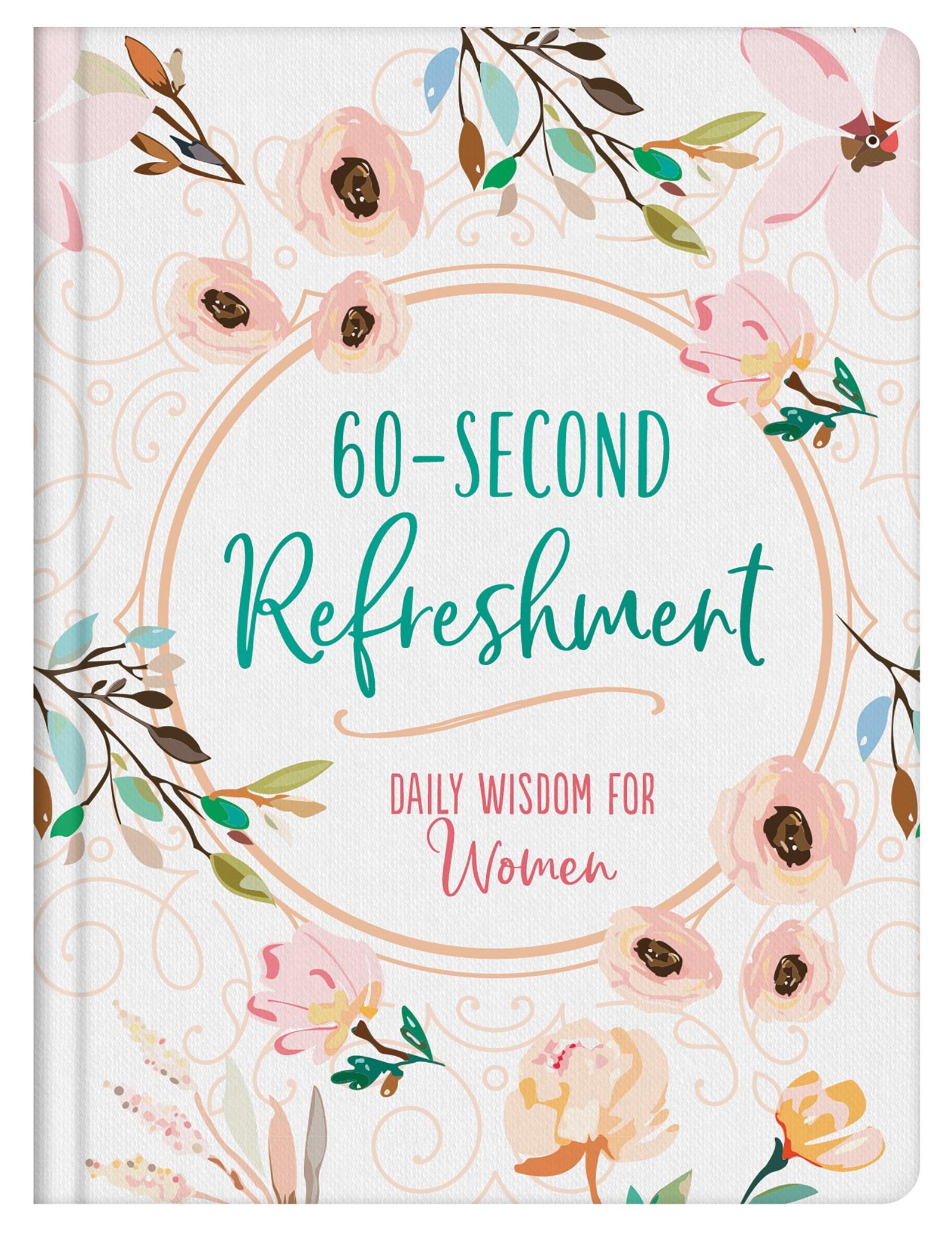 60-Second Refreshment: Daily Wisdom For Women