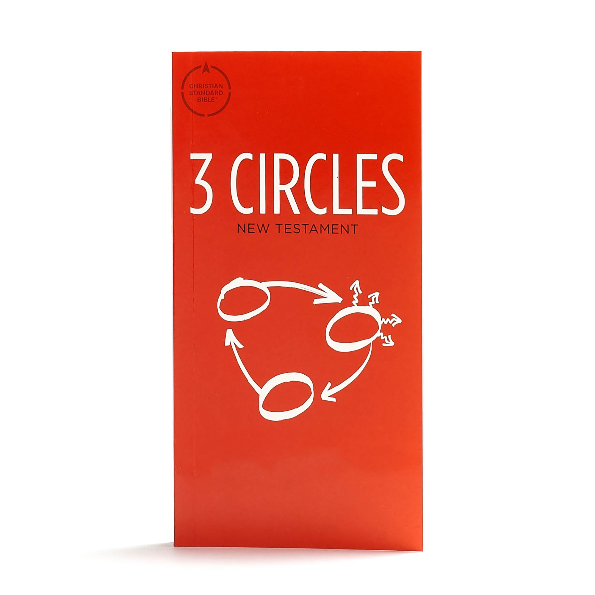 CSB 3 Circles Evangelism New Testament-Softcover