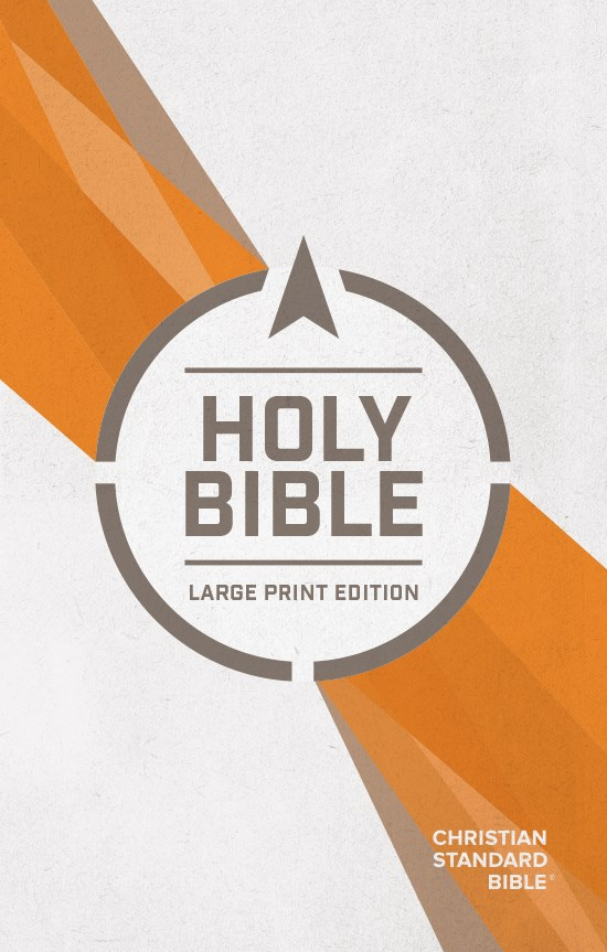 CSB Outreach Bible/Large Print-Softcover