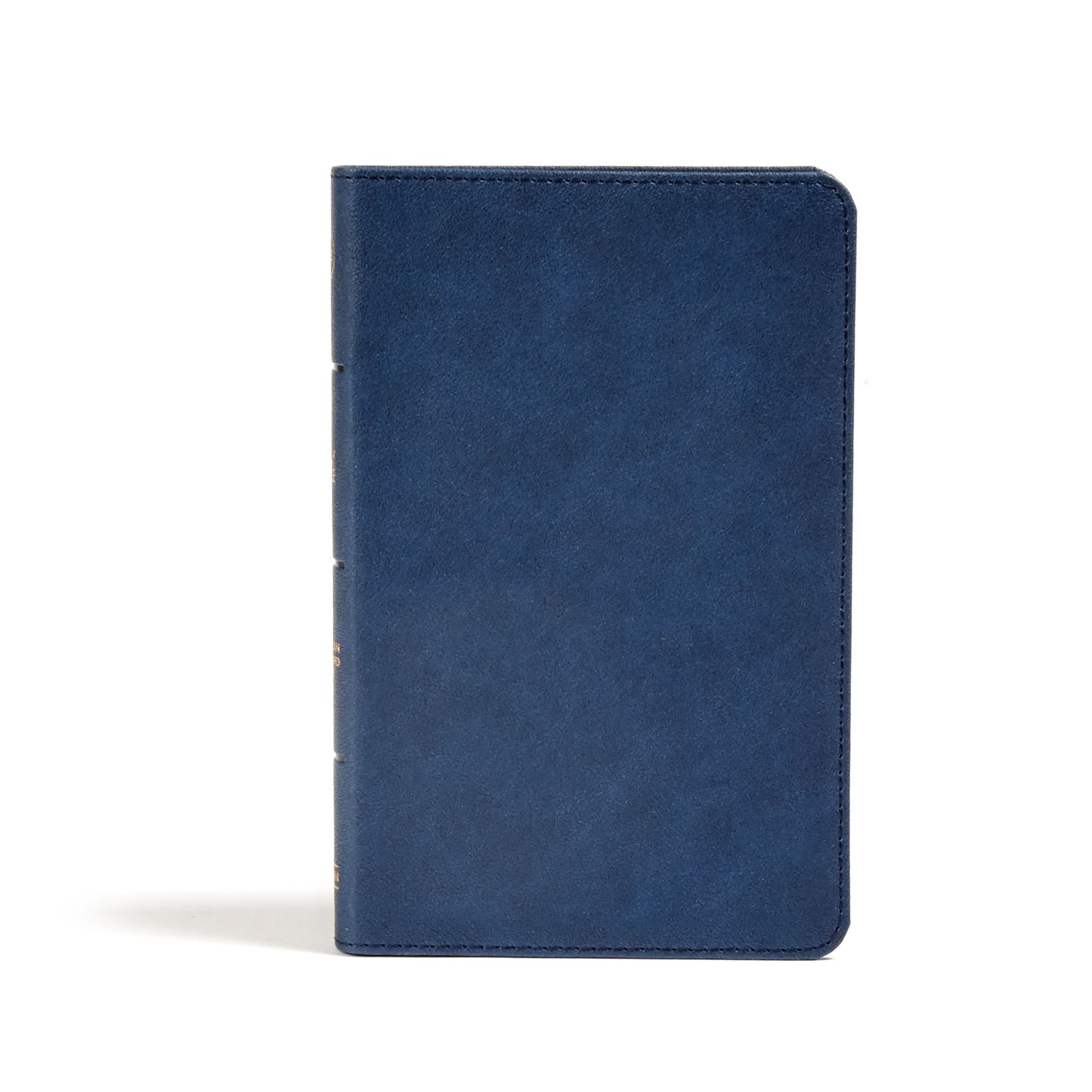 CSB Personal Size Bible-Navy LeatherTouch