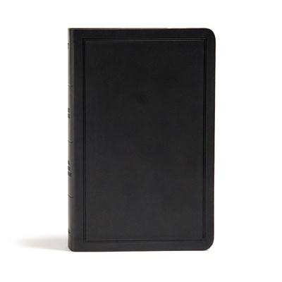 KJV Deluxe Gift Bible-Black LeatherTouch