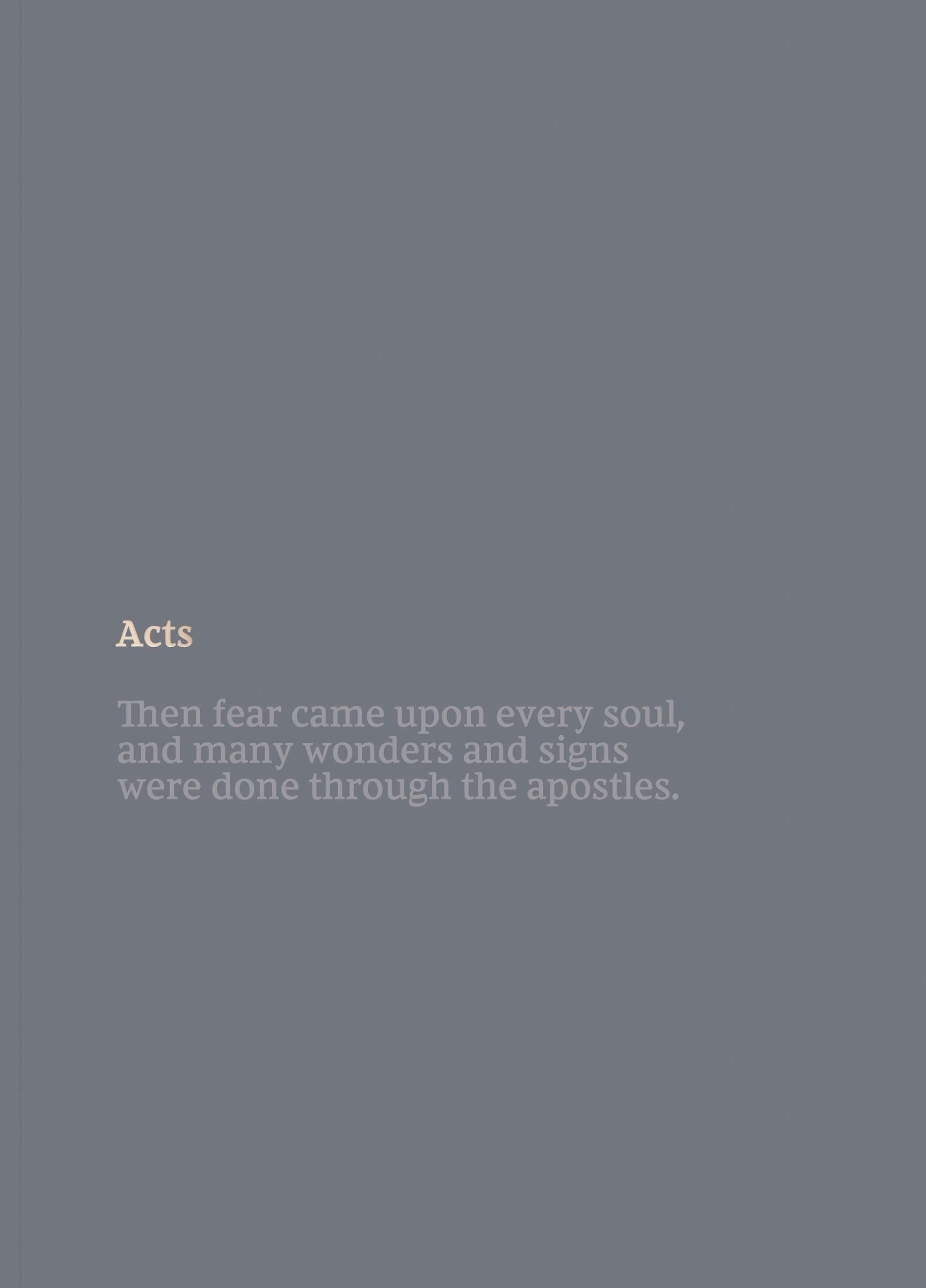 NKJV Bible Journal: Acts-Softcover